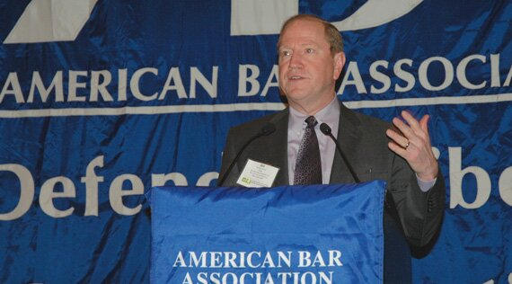 Bill Bay, chair of the ABA Standing Committee on Bar Activities and Services