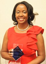 Dolores Dorsainvil, recipient of the Rosner & Rosner Young Lawyers Professionalism Award