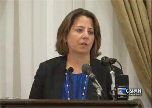 Assistant Attorney General Lisa Monaco (video still from CSPAN)